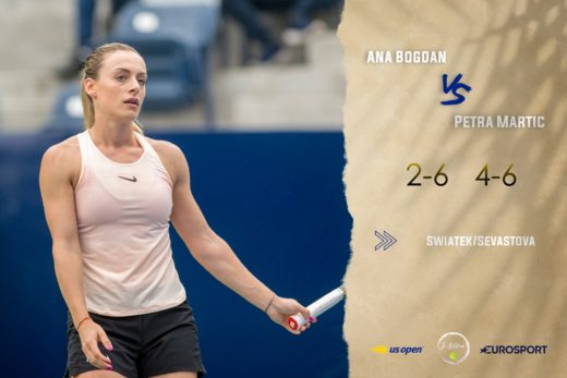 Ana Bogdan a parasit in turul secund US Open