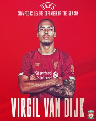 Virgil van Dijk face legea in Champions League
