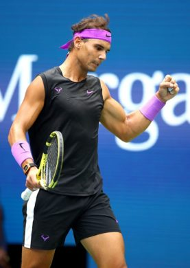 Rafa Nadal sufera dar in final invinge in ultimul act la US Open
