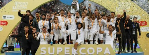 Real invinge Atletico si-si adjudeca Supercupa Spaniei